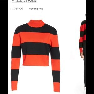 NEW Collection Victor Glemaud Sweater cropped S